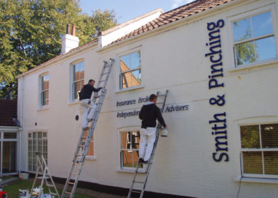 External office painting, Norwich